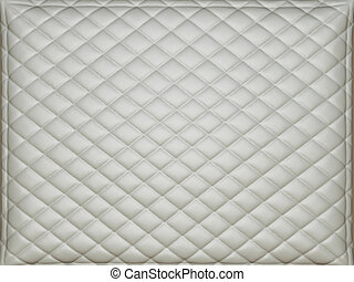 Beige leather background with rhombus bumps