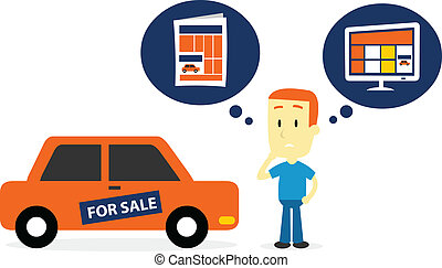 Better Sell A Car on Newspaper Ads or Website Ads - Man...