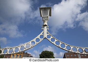 Ha'penny Bridge, River Liffey, Dublin