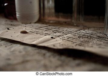 Old parer - old paper