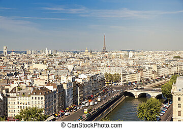 Paris - Notre Dame of Paris: Famous Chimera, demon,...