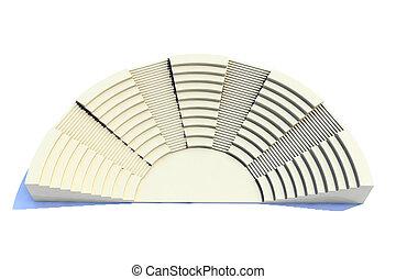 3d amphitheater roman style