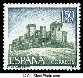 castelo,  almodovar,  Cordoba, Espanha