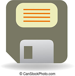 floppy disc vector illustration