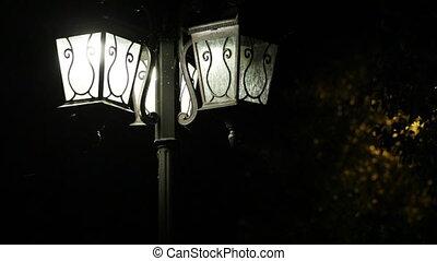 Streetlights - Burning bright city street lights