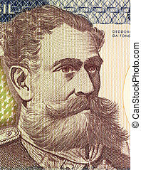 Deodoro da Fonseca on 500 Cruzerios 1981 Banknote from...
