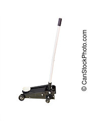 Image of a car repair lifting jack isolated under the white...