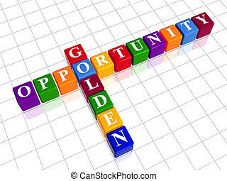golden opportunity like color crossword