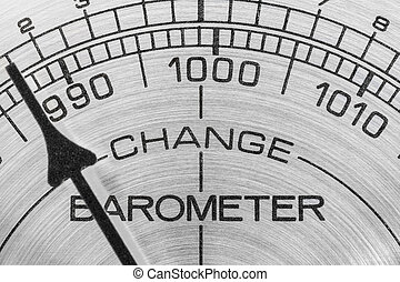 Change in the Weather - Change in the weather barometer...
