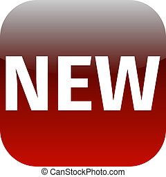 red text new icon for app