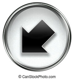 Arrow icon grey