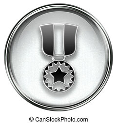 medal icon grey