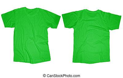 Light Green T-Shirt Template