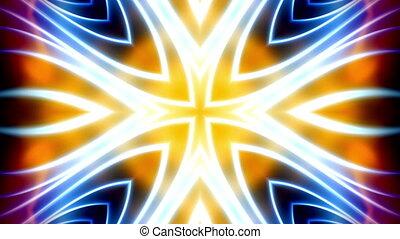 Multicolor X5 VJ Loop Abstract
