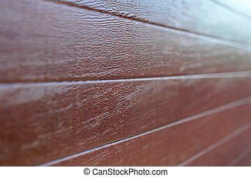 Wood Panelling - A close up shot of wood panelling
