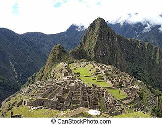 Machu Picchu, the lost city of Peru - Machu Picchu, the...