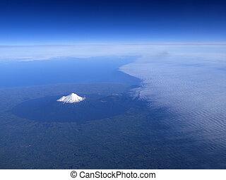 Mt. Taranaki, New Zealand - Mount Taranaki or mount egmont...