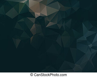 Dark abstract background polygon - Dark abstract geometric...