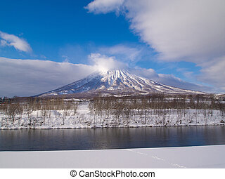 MtYotei, The little fuji of Hokkaido - Mount Yotei in winter...