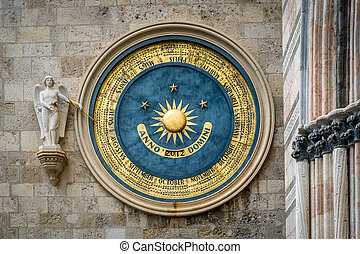 Eternal calendar in Messina - Ancient eternal cathedral...
