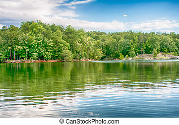 lake wylie reflections