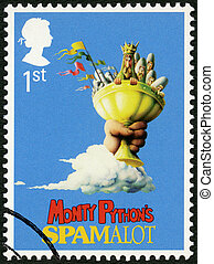UNITED KINGDOM - 2011: shows Monty Pythons Spamalot, series...