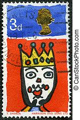 UNITED KINGDOM - CIRCA 1966: shows King, series Christmas -...
