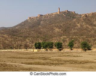 Jaigarh Fort, Jaipur, India - Jaigarh Fort in summer,...