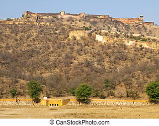 Jaigarh Fort, Rajasthan, India - Jaigarh Fort in Jaipur and...
