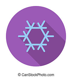 Air conditioning Single flat color icon Vector illustration...