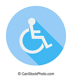 Disabled single icon. - Disabled. Single flat color icon....