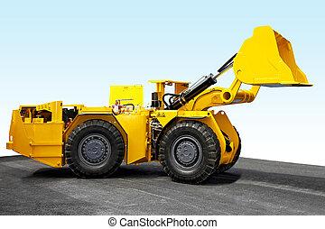 Mineração, cavador