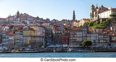 Panorama Porto ancient Town - Panorama ancient Town of Porto...