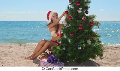 Christmas tropical beach vacations