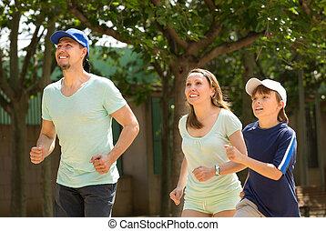deportes, familia, Funcionamiento, Al aire libre