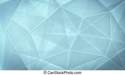 abstract triangle geometrical gray background loop - gray...