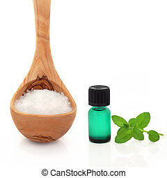 Sea Salt and Peppermint Essence -...