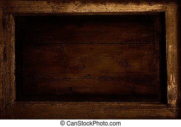 木制, 框架