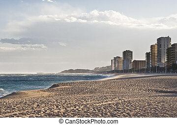 Platja dAro - View of Cavall Bernat beach in Platja dAro,...