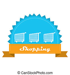 add to cart - a blue icon with three white silhouettes of...