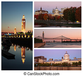 Montreal collage