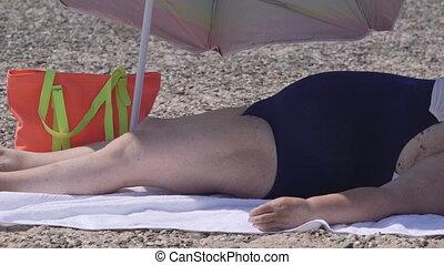 Weight loss summer beach  resort