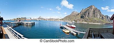 Svolvaer - Hafen von Svolv