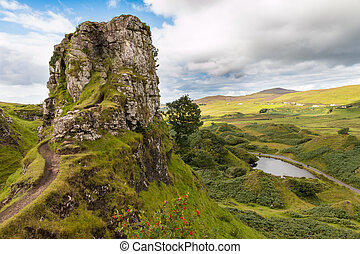 Romantic Fairy Glen - Mystic Fairy Glen, a romantic green...