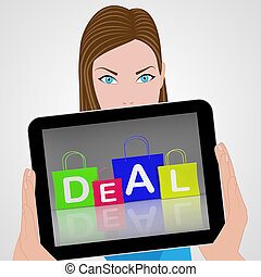 Deal Bags Displays Retail Shopping and Buying