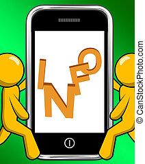 informazioni, su, telefono, mostre, Cliente, sostegno, o,...