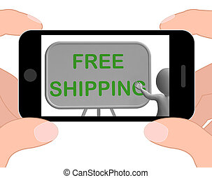 Free Shipping Phone Shows Item Shipped At No Cost - Free...
