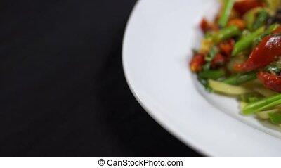 Fettucine Primavera - Italian Pasta - Fettucine Primavera...