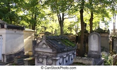 Above Ground Cemetery - Paris - The above ground cemetery in...