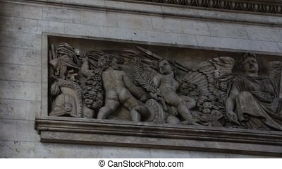 Angels & Demons Embedded Sculpture - Angels and Demons...